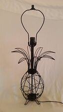 50's Mid Century Modern Wire Pineapple Lamp by FERRIS SHACKNOVE