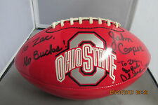 John Cooper & Archie Griffin Autographed Football
