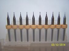 "(10) 0.60mm (.0236"") 2 FLUTE MICRO CARBIDE ENDMILLS Kyocera 1600.0236.079"