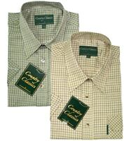 Short Sleeve Country Classic Check Shirts Cartmel Special Offer £14.99 FREE POST