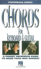 Paperback Songs Framed Chords For Keyboard & Guitar Learn to Play Music Book