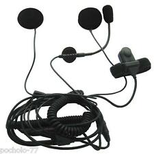 KIT MICRO ALTAVOCES CASCO ABIERTO COMPATIBLE CON MIDLAND E INTEK IDEAL PARA MOTO