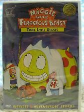 Maggie & the Ferocious Beast: Three Little Ghosts (DVD, 2005, Canadian) NEW!