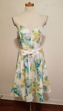 Banana Republic silk sundress size 10 floral