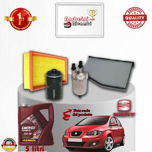 Mantenimiento Filtros + Aceite Seat Altea 1.8 TFSI 118KW 160CV De 2009- >