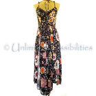 DOTTI Aurelia Split Front Maxi Dress Multi-coloured Various Sizes New with Tags