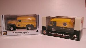 (2)  --  FIRST  GEAR  -- NAPA  -- INTERNATIONAL  --  DELIVERY  TRUCKS