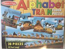 Melissa and Doug Alphabet Train Floor Puzzle