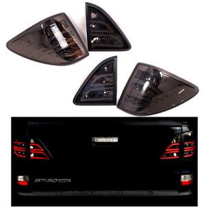 Tail Lights Lamp Black Smoke LED For Mazda BT50 BT-50 Pro Pickup 2012-2019