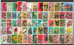 "SWITZERLAND "" PRO JUVENTUTE "" semi postals varied group 65 stamps o upgiven col"