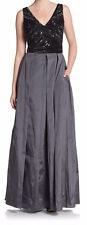Aidan Mattox New Sleeveless Beaded Bodice Gown Size 6 MSRP $486 #HN 241