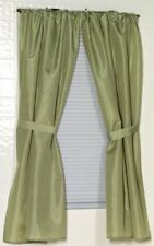 Carnation Home Fashions 100% Polyester Fabric Sage Window Curtain CAR-WC-FAB/42