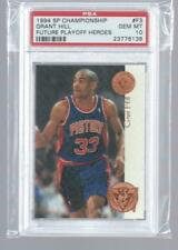 GRANT HILL 1994 SP Championship FUTURE PLAYOFF HEROES RC PSA 10 GEM MINT HOF