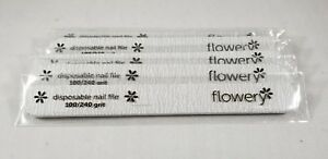 Flowery Silver Streak Cushion Core File 100/240 Grit (DFCS2) - Choose Your Pack