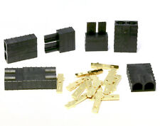 3 Paar 6 Stück Traxxas Stecker TRX Hochstromstecker Buchse Goldstecker Plug 70A