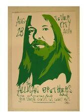 The Allman Brothers Band Concert Poster Silkscreen