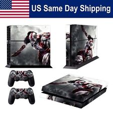 Modded Custom Sticker Skin for Playstation 4 Console & Controller Set Decals