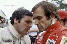 CARLOS REUTEMANN & ALAN JONES Williams F1 Ritratto Fotografia 1981 1