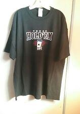 Wpt Texas hold em t-shirt xxl black white red poker all in