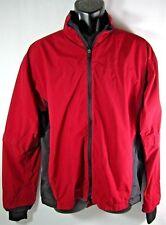 Zero Restriction Packable Convertible Waterproof Golf Jacket Red Mens MEDIUM