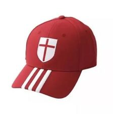 NWT Adidas AC Milan ACM 3S CAP 2014-2015 Adjustable Cap Soccer Red/White M60118