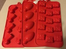 CHRISTMAS silicone molds lightbulbs presents stockings NEW