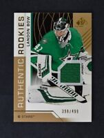 2018-19 UD SP Game Used Gold Jersey Relic Rookie #123 Landon Bow /499