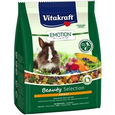 Vitakraft Emotion Beauty Adult, Zwergkaninchen - 1,5kg - Kaninchen Futter