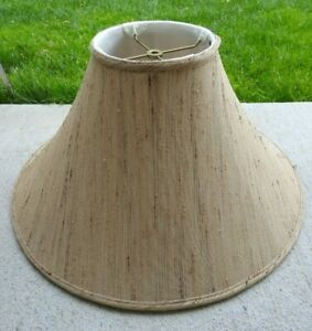"""Vintage Frederick Cooper Designer  Brown's Lamp SHADE ONLY 13"""" Tall 7 1/2"""" Top"""