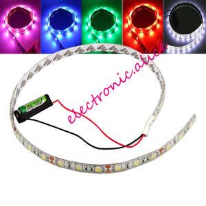 Battery Powered LED Strip 12V 5050 3-30 led White Waterproof Flexible LED Strip