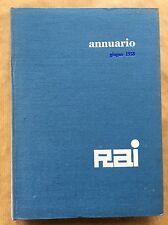 ANNUARIO RAI 1958 Relazione e bilancio dell'esercizio 1957