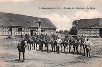 41 . n° 102976 .souesmes .domaine de bois rose .la ferme et les chevaux .