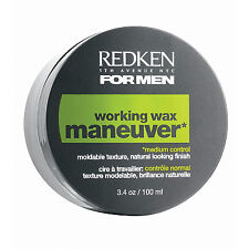Redken Men Maneuver Working Wax 100ml Hair Care