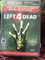 Left 4 Dead, Platinum hits, Xbox 360 (2009), Tested and Working!!