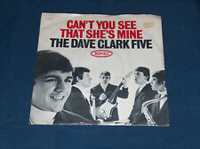 45 RPM Sleeve Only Dave Clark Five Time To Lose See That Shes Mine Epic 9692 GD+