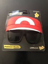 Party Costumes - Sun-Staches - Pokemon Trainer Hat Ash Ketchum New