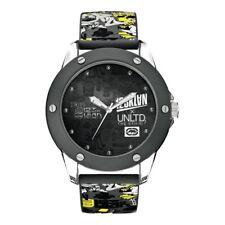 MARC ECKO UNLTD men's watch round multicolored resin designs e09530g1 zk