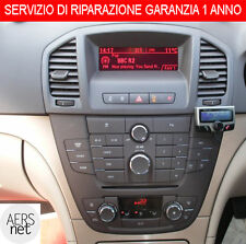 RIPARAZIONE NAVIGATORE O RADIO CD OPEL MERIVA CORSA MOKKA INSIGNA BLAUPUNKT