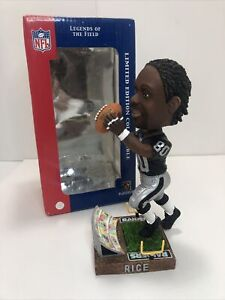 Oakland Las Vegas Raiders Jerry Rice Bobblehead Limited Edition Numbered