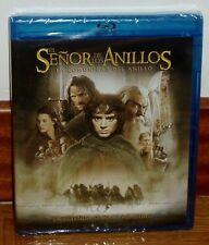 EL SEÑOR DE LOS ANILLOS-LA COMUNIDAD DEL ANILLO-BLU-RAY+DVD-NUEVO-PRECINTADO