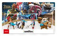 Zelda: Breath of the Wild - Champion's Amiibo 4-Pack [Nintendo Switch, U & 3DS]