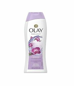 Olay fresh outlast soothing orchid and black currant body wash 400 ml