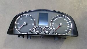 Speedometer Instrument Cluster 1T0920871A VW Touran 2.0 Tdi DPF Highline