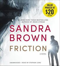 Friction by Sandra Brown (2016, CD)