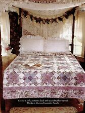 """Garden Dream   Finished Size -94-1/2""""x94-1/2""""    Quilt  Pattern Only"""