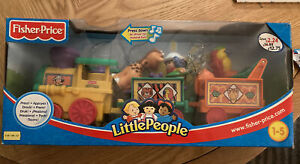 Fisher Price Little People Musical Zoo Train Original Box VGC