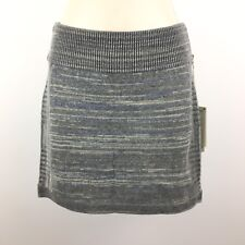 NEW Royal Robbins Women's High Rise Tube Skirt Charcoal Gray Skirt Size XS