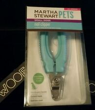 MARTHA STEWART PETS STAINLESS STEEL SMALL DOGS NAIL CLIPPER CURVED BLADE