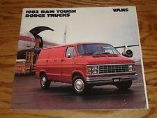 Original 1983 Dodge Van Sales Brochure 83 Ram B150 B250 B350