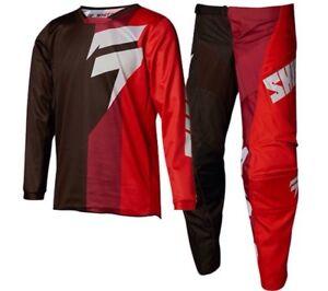 Brand New Shift Kids White Label Tarmac Motocross MX Kit Size 26W Large Jersey